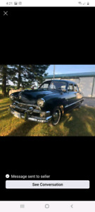 Classic car  1951 ford deluxe