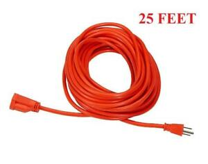 25 Feet Outdoor Heavy Duty Power Extension Cord - 3-Wire Grounded Toronto (GTA) Preview