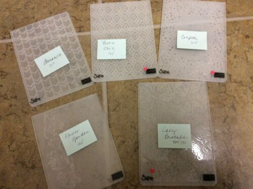 Stamping Up Embossing Folders **VARIOUS**