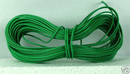 Équipements fil-Vert 1 x 10m rouleau 7//0.2 mm 1.4 une évaluation conforme rohs