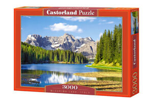 "Castorland Puzzle 3000 Pieces MISURINA LAKE, 92x68cm 36""x27"" Sealed box C-300198"