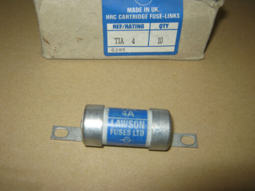 Lawson TIA4 4A 4 amp BS88 hrc fuse