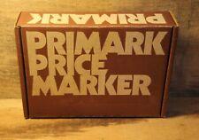 Vintage Primark Price Marker Gun Label In Original Box With Instructions Works