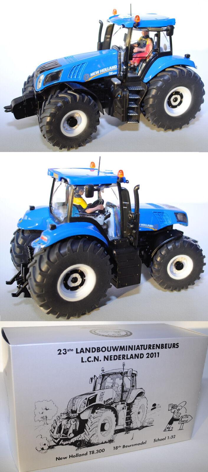Siku Farmer 3273 NEW HOLLAND t8.300 Trattore, l.c.n. totali 2011 modello speciale
