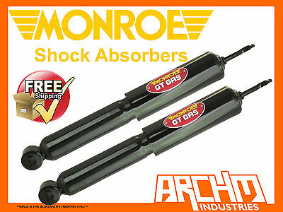 HOLDEN TORANA LH LX UC SL/R 5000 74-79 REAR MONROE GT GAS SHOCK ABSORBERS