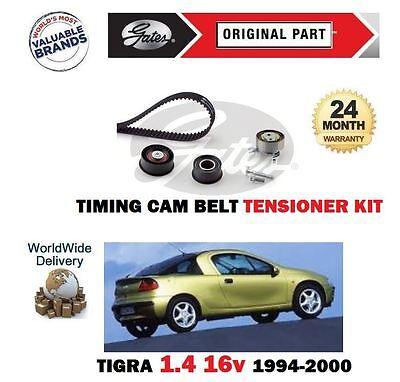 Gates Timing Belt Cam Belt for VAUXHALL TIGRA 1.4 X14XE 90bhp