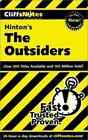 CliffsNotes on Hinton's the Outsiders by Cliffs Notes Staff and Janet Clark (2000, Paperback)