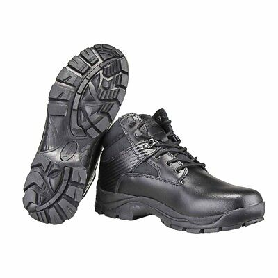 Vertrouwend Ncstar Cab3001 Oryx Mid Height Full Grain Cowhide Mens Combat Boots - Black