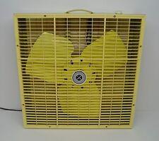 "Vintage Sears & Roebuck 2-Speed 22"" Box Fan | Retro 2-Tone Color | Works Great"