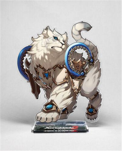 Anime Cosplay Xenoblade Chronicles 2 Rex Nia Acrylic Stand Figure Gift Toy