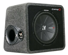 "KICKER 12"" 1000W Loaded Car Audio Subwoofer+ Enclosure (Certified Refurbished)"