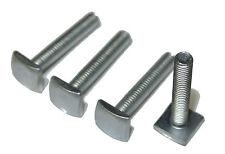 4er Set Nutenstein T-Nut Adapter M6x35 mm (12x12 mm), für Dachrelingträger