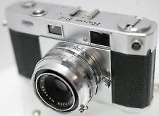 Rare - Ricoh S-2 (500 519) 35mm Film Rangefinder Camera w/ Riken 4.5cm F2.8 Lens