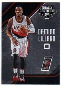 2015-16-Panini-Totally-Certified-Basketball-100-Damian-Lillard-Blazers