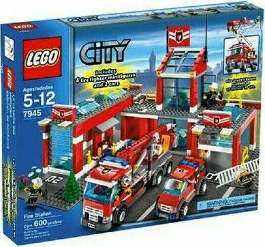 Lego City Fire Station 7945 For Sale Online Ebay