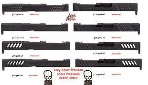 Details about Grey ghost precision aero Glock 17 or 19 slide V1 V2 Gen 3 or  4 G19 G17 RMR cut