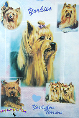 Yorkie Dog Gift Present Wrap