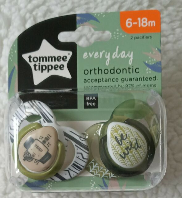 Fun Style Orthodontic Soothers from Tommee Tippee 6-18m BPA free