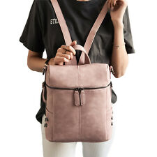New Fashion Backpack Women Leather Backpacks For Teenage Girls School Bags Pink