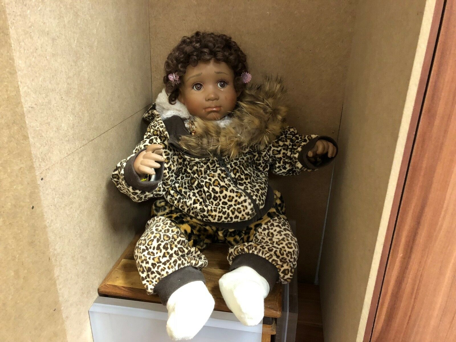 Artistas muñeca muñeca de porcelana 57 cm. top estado.