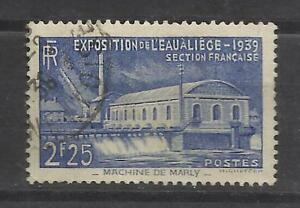 5283-SELLO-FRANCIA-1939-EXPOSICION-AGUA-N-430-VALOR-YVERT-5-50-USADO
