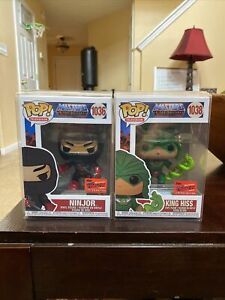 FUNKO-POP-NYCC-2020-MOTU-KING-HISS-1038-NINJOR-1036-OFFICIAL-CON-STICKER-HE-MAN