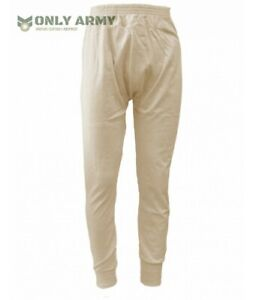 NEW-Italian-Army-Thermal-Long-Johns-Base-Layer-Warm-Winter-Military-100-COTTON