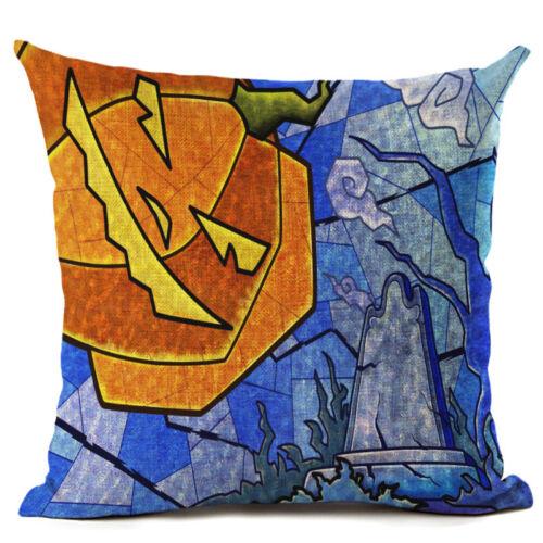 Halloween/'s pumpkin Cotton Linen Home Décor Throw Pillow Case Cushion Cover