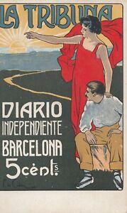 Postal-Catalogne-Barcelone-Journal-Independant-la-Tribune-MBC