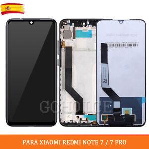 Pantalla LCD Para Xiaomi REDMI NOTE 7 / 7 PRO + Táctil + MARCO (opcional) Negro
