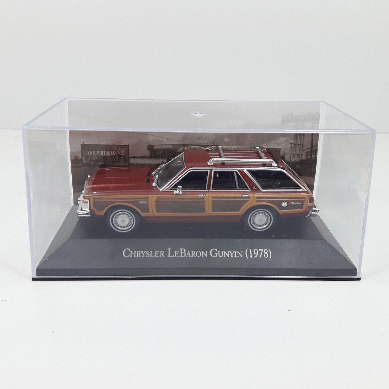 1   43 coche auto chrysier lebaron gunyin 1978 altaya ixo mexiko