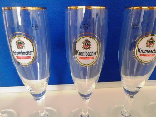 Sahm Krombacher Gläser 6 Stück Set.
