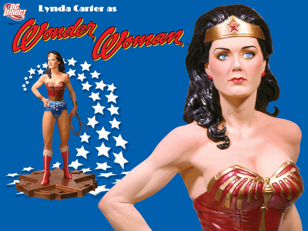 Lynda Carter as Wonder Woman Dc Direct, nuova, rarissima, perfetta