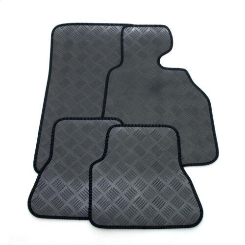 neat bordure edge Ajustement parfait noir résistant caoutchouc tapis de voiture set pour bmw X3 2011 />