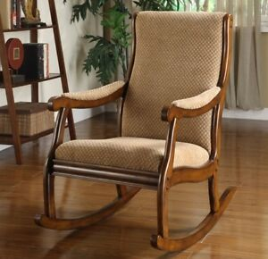 Wood-Rocking-Chair-Wooden-Rocker-Sturdy-Chairs-Nursery-Den-Living-Room ...