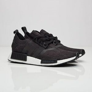 new products b5ad3 0340f Details about Adidas NMD_R1 PK Textile BB0679 Core Black Men Size US 6.5  NEW 100% Authentic