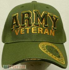 ba25af117ba item 2 OFFICIAL LICENSED MILITARY UNITED STATES ARMY VETERAN VET CAP HAT  BLACK OLIVE OS -OFFICIAL LICENSED MILITARY UNITED STATES ARMY VETERAN VET  CAP HAT ...