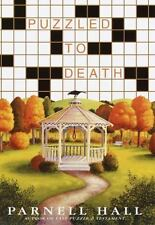 Puzzle Lady Mystery: Puzzled to Death Bk. 3 by Parnell Hall (2001, Hardcover)