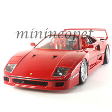BBURAGO 18-16601 ORIGINAL SERIES FERRARI F 40 1/18 DIECAST MODEL CAR RED