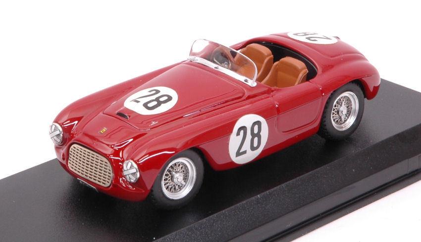 Ferrari 166 Mm   28 6th (1st Class) Portugal Grand Prix 1952 C. Biondetti Model  nous offrons diverses marques célèbres