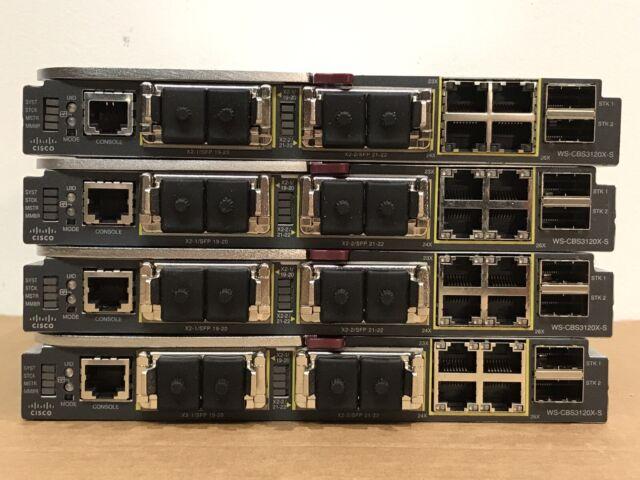451439-B21 HP BLc7000 BLc3000 Cisco 3120X 451357-001 WS-CBS3120X-S CVR-X2-SFP x2