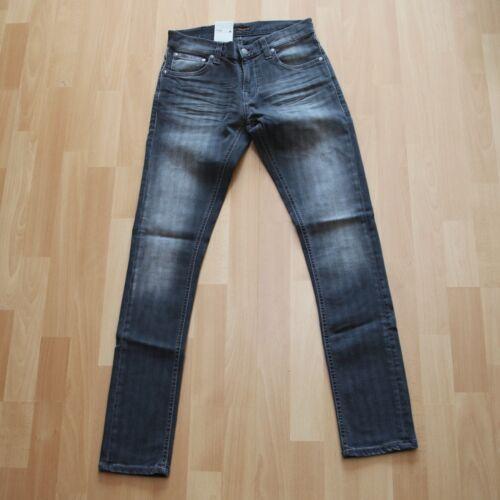 Tight Antifit Grey Pinstripe 28//32 NEU Nudie Jeans Tight Terry