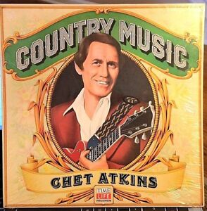 SEALED-Chet-Atkins-LP-Country-Music-Time-Life-1981