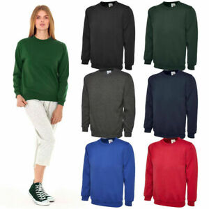 UNEEK-UX3-Plain-Adult-Sweatshirt-Men-Women-Sweater-Workwear-Jumper-Unisex-lot