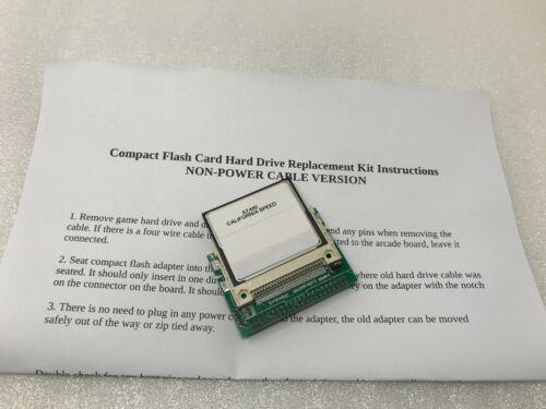 California Speed Atari Midway Arcade Compact Flash Card Upgrade Conversion Kit