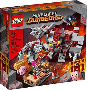 21163-Lego-Minecraft-la-Redstone-Battle-Construction-Set-504-pieces-8-Ans