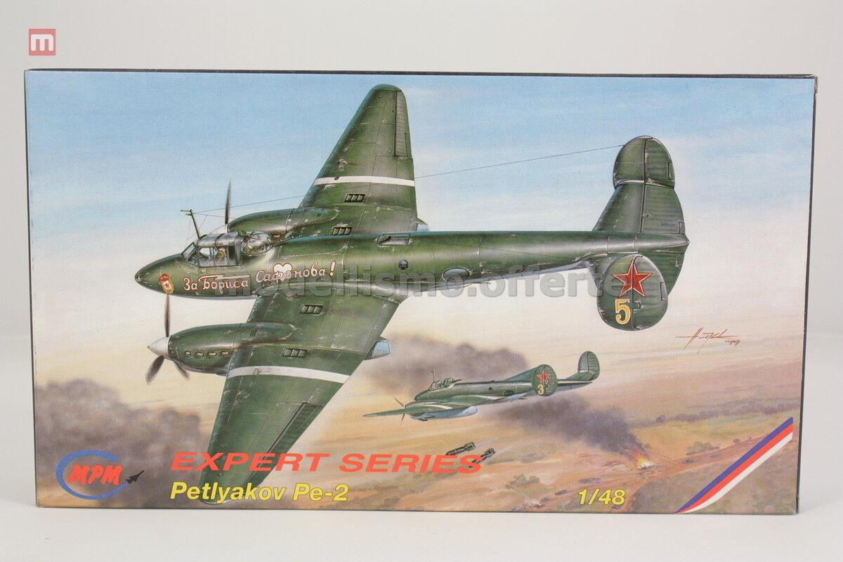 MPM 48041 Petlyakov Pe-2 1 48 modellismo statico