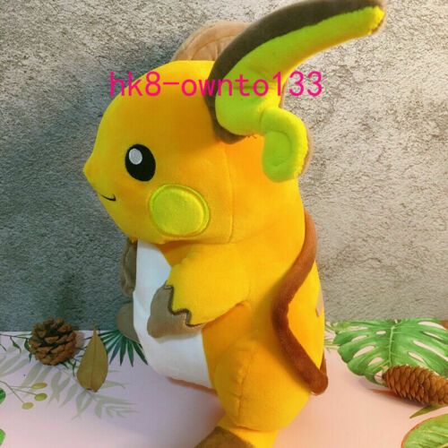 """Large 11/"""" Raichu Plush Doll Stuffed Toy 28cm Gift Free shipping"""