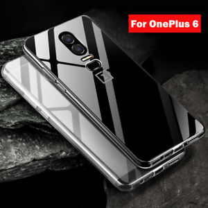 low priced b3c79 ac02a Details about For OnePlus 6T 6 Ultra Thin Case Crystal Clear TPU Shockproof  Slim Cover Skin