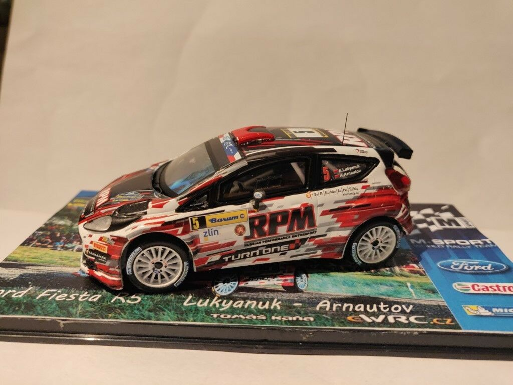 1 43 Ford Fiesta r5 A. lukyanuk BARUM Czech Rally climatique 2015